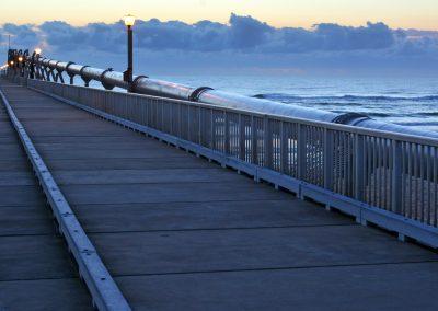 Gold Coast Pier at the Spit -Queensland Australia