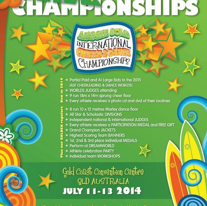 The Aussie Gold International Cheer and Dance Championships on Gold Coast