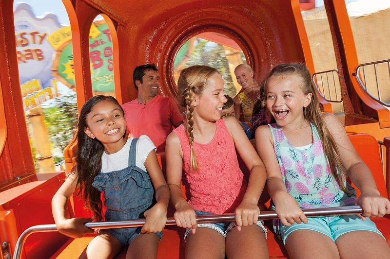 Explore Sea World Nickelodeon-Themed Precinct