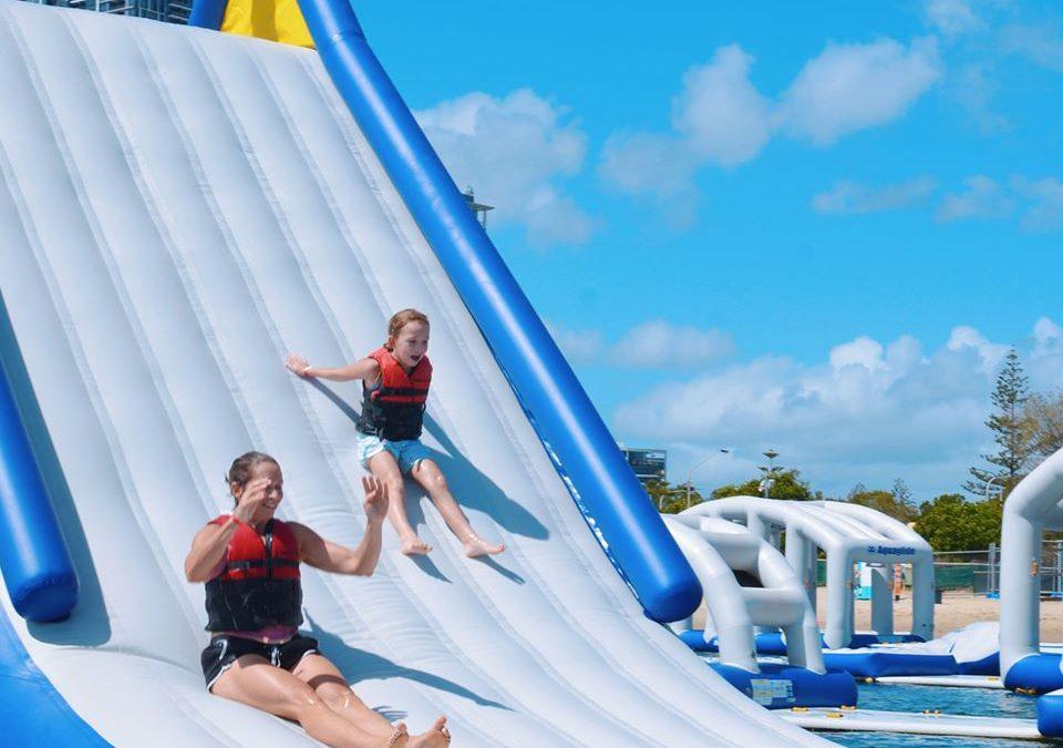 Dive into Family Fun with the Gold Coast Aqua Park!