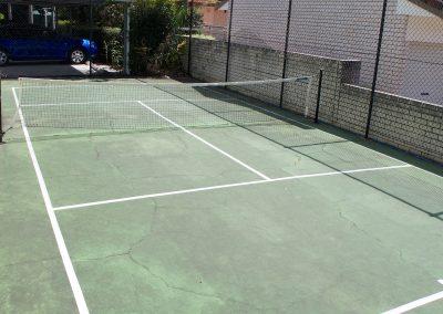 Harbourside Resort gold coast accommodation facilities tennis court