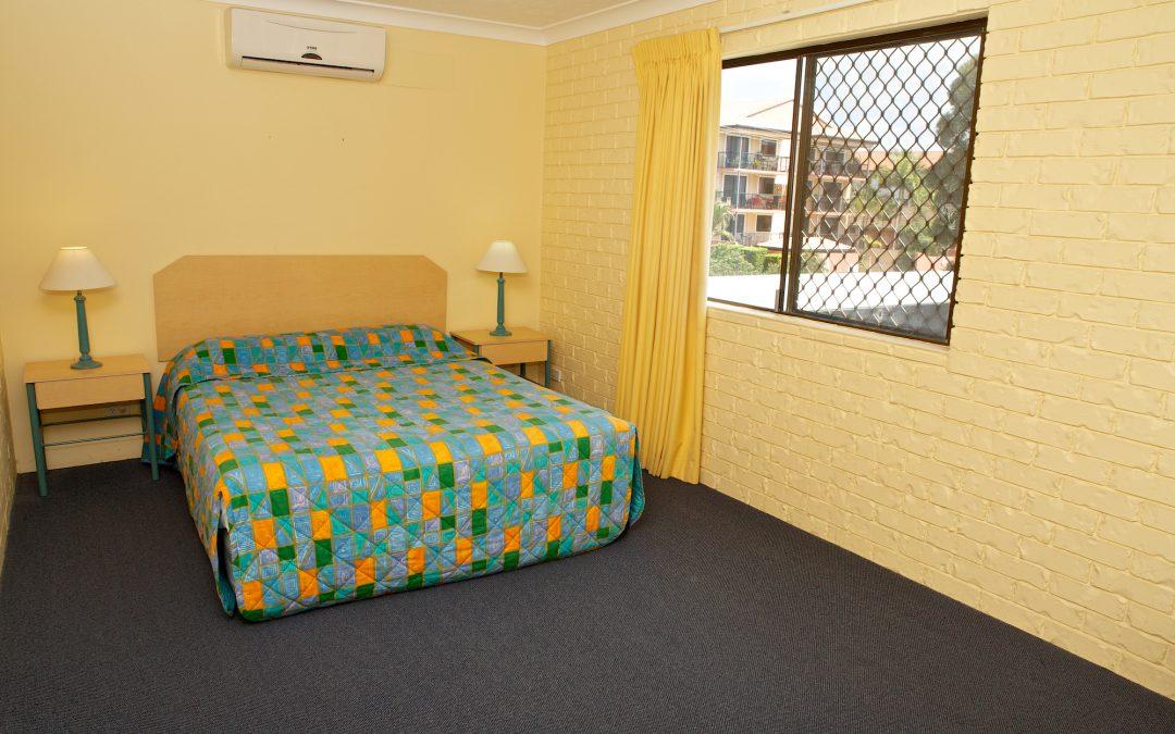 Harbourside Resort accommodation bedroom