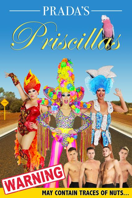 Pradas Priscillas An All Male Revue